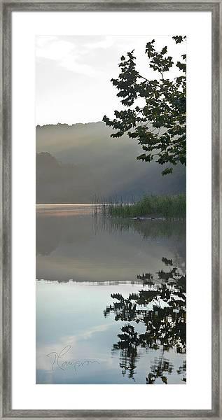 Shy Vanity Framed Print