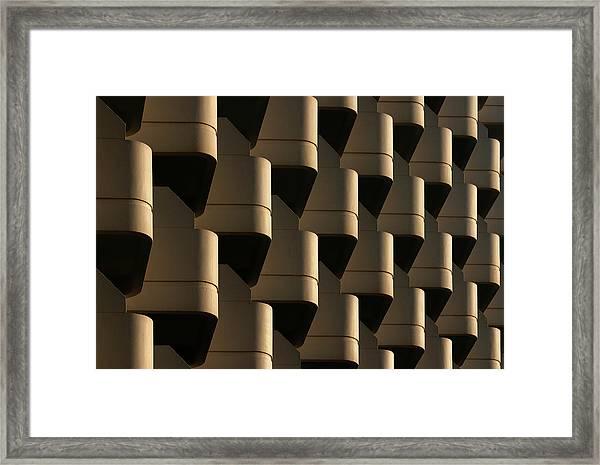 Side By Side Framed Print