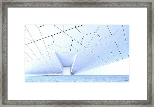 Side Entrance Framed Print