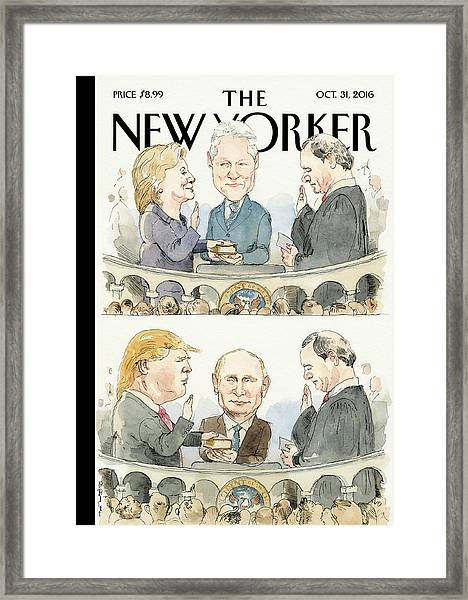 Significant Others Framed Print by Barry Blitt