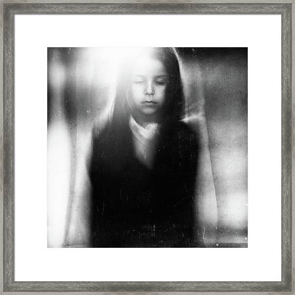 Silence And Soul Framed Print