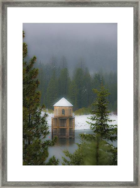 Silent Tower Framed Print