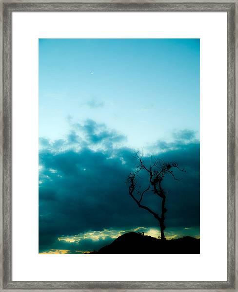 Silhou Framed Print