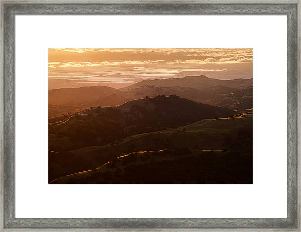Silicon Valley Framed Print