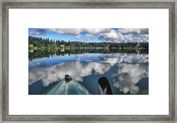 Siltcoos Morning View 1 Framed Print