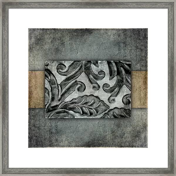 Silver Bracelet Detail 1 Framed Print