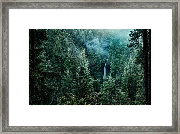 Silver Falls State Park Framed Print