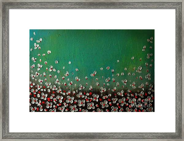 Silver In Move Framed Print