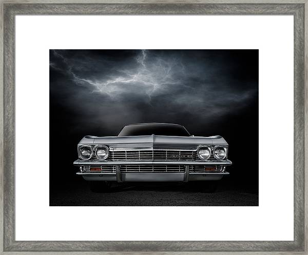 Silver Sixty Five Framed Print