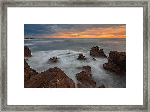 Silverlight-cambria Framed Print