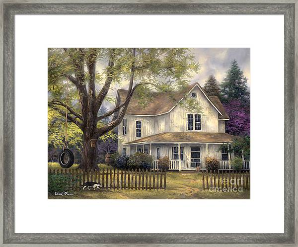 Simple Country Framed Print
