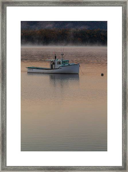 Simple Daybreak Framed Print by Nicole Robinson