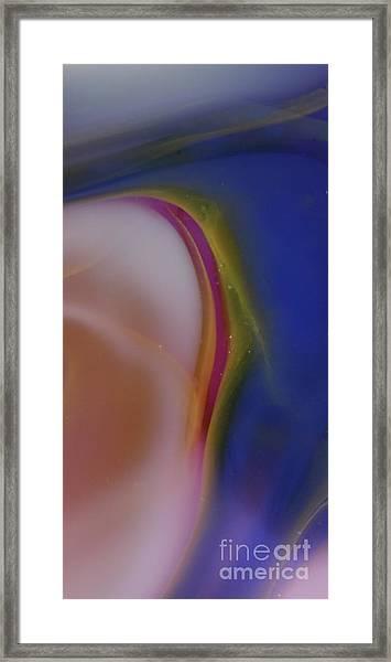 Simple Pink Framed Print