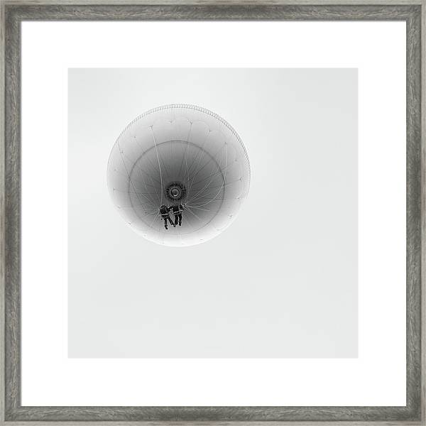 Simply Balloon Framed Print by Marcel Rebro