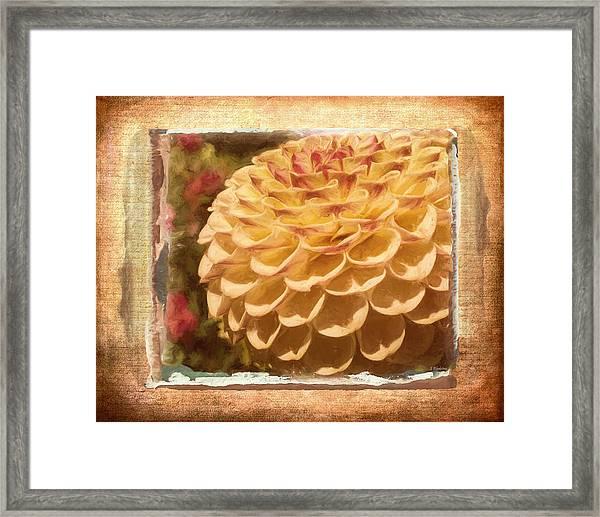 Simply Moments - Flower Art Framed Print