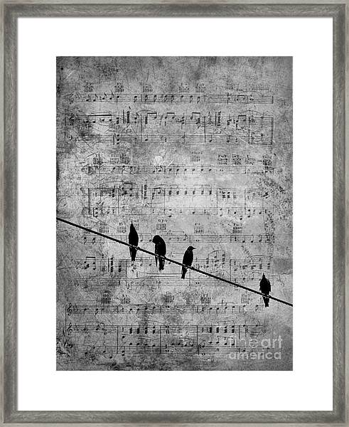 Sing A Song Of Sixpence Framed Print