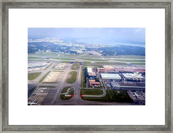 Singapore Airport Framed Print