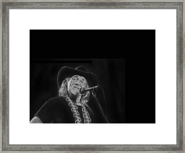 Singing Willie Framed Print