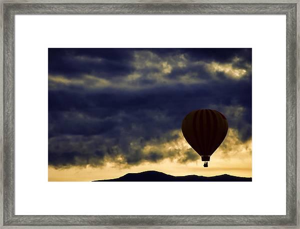 Single Ascension Framed Print