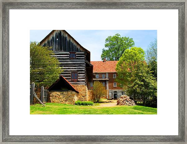 Single Brothers House Framed Print