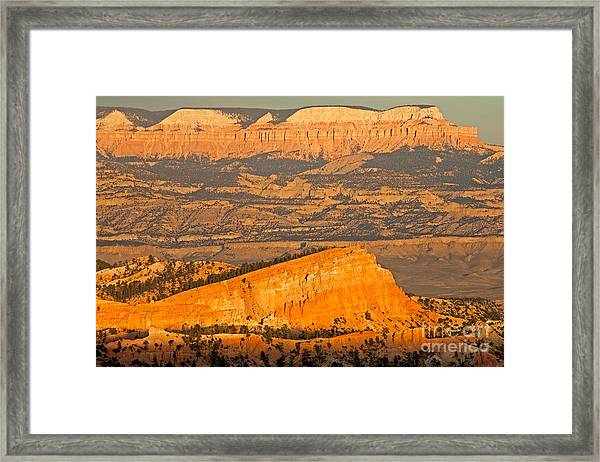 Sinking Ship Sunset Point Bryce Canyon National Park Framed Print