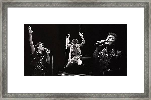 Sir. Cliff Richard Framed Print