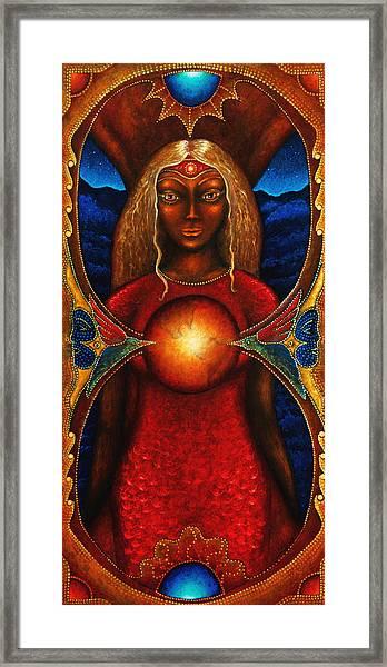 Sister Of The Stars Framed Print