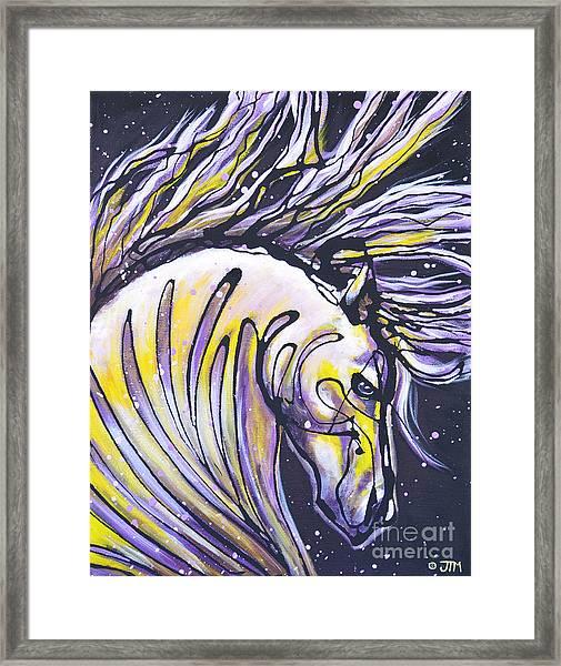 Sizzling Hot Framed Print