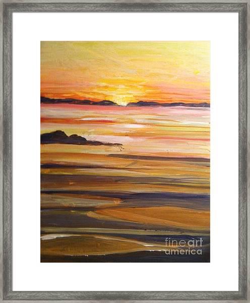 Skaket Beach Framed Print