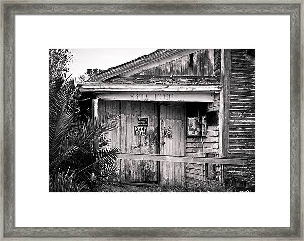 Framed Print featuring the photograph Skin Deep by Priya Ghose