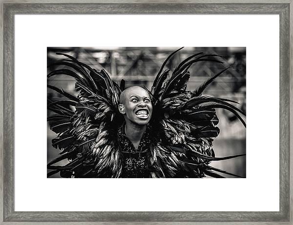 Skunk Anansie Framed Print
