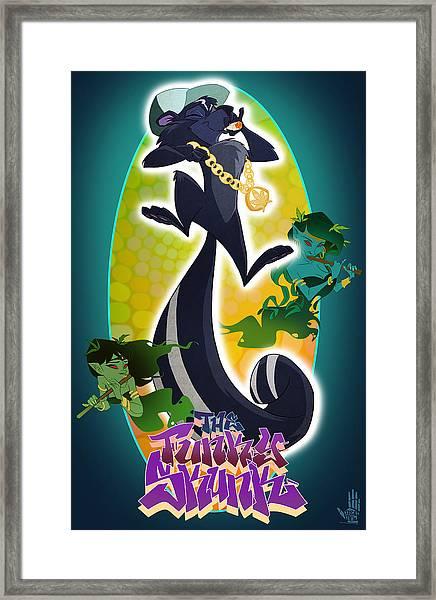 Skunk Funk Framed Print