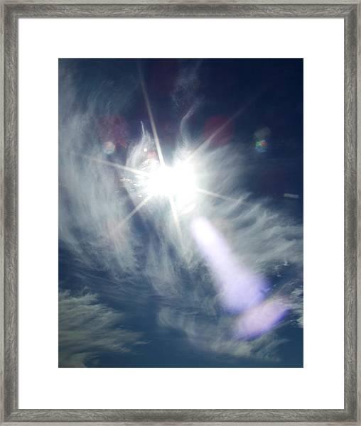 Sky Angel Framed Print