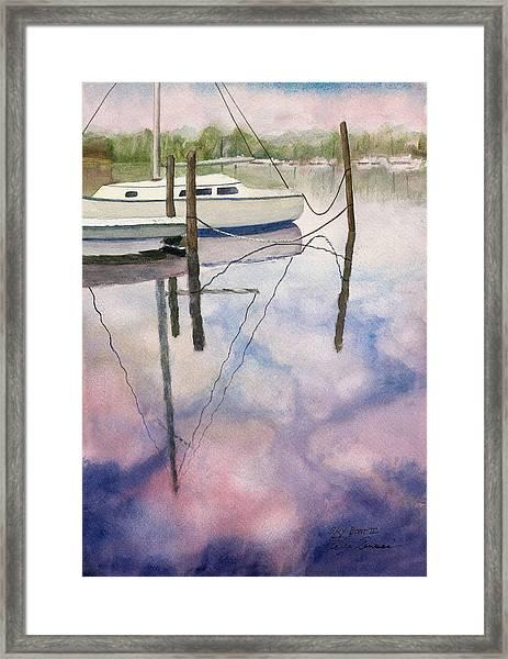 Sky Boat II Framed Print
