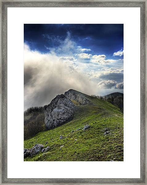 Sky Boundary Framed Print