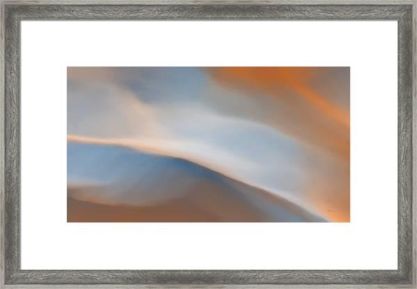 Sky Break 2 Framed Print