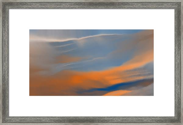Sky Break Framed Print
