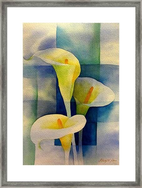 Sky Breeze Framed Print