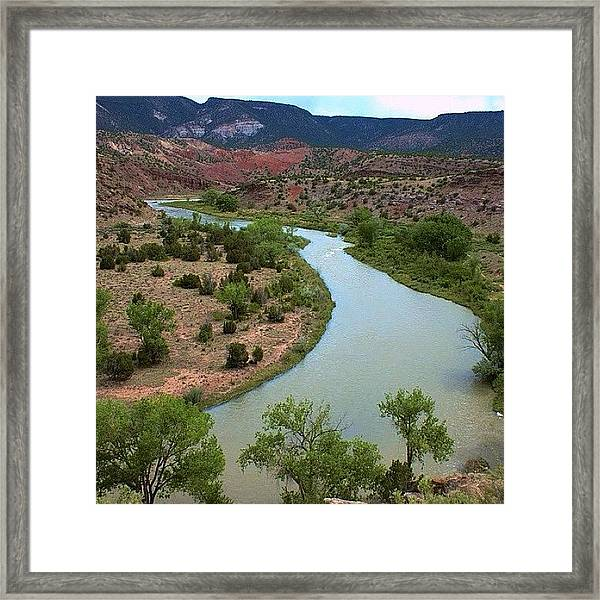 #sky #design #travel #light #color Framed Print