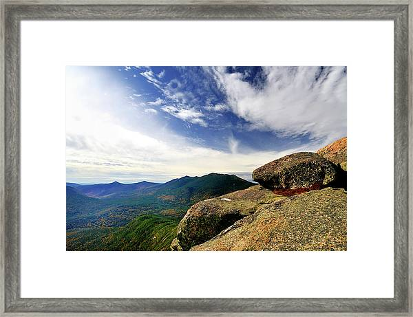 Sky Over The Pemi Framed Print by Mikecherim