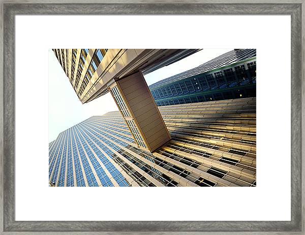 Skybridge Framed Print