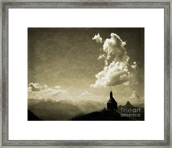 Skyfall Framed Print