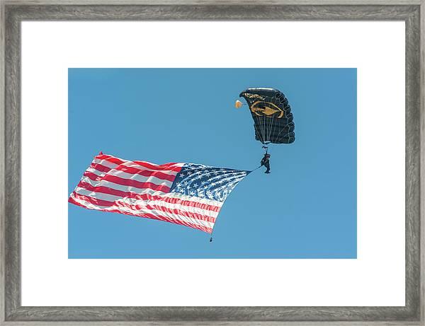 Skyfest, Airshow, Ussocom, Army Framed Print