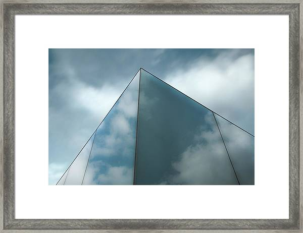 Skyreflect Framed Print by Gilbert Claes
