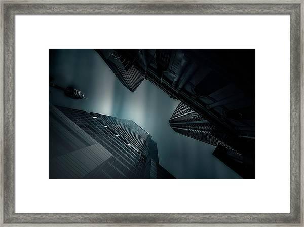 Skyscraper In Sydney Framed Print