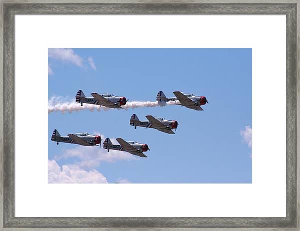 Skytypers Framed Print