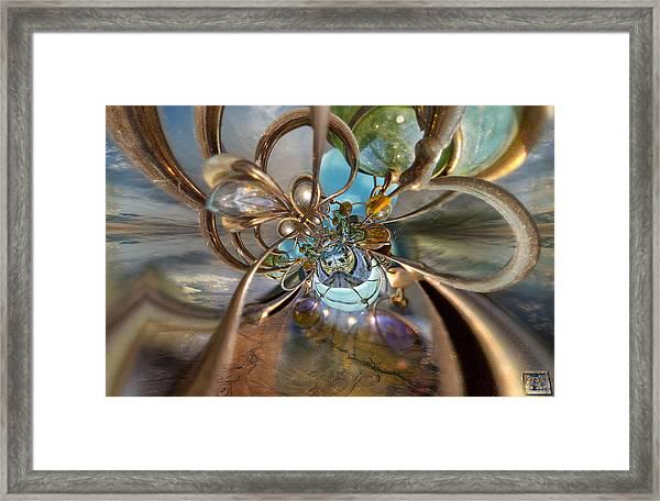 Skyway Framed Print
