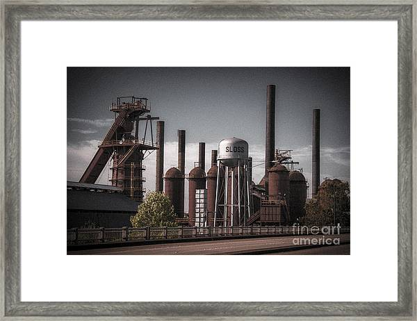 Sloss Furnaces Framed Print