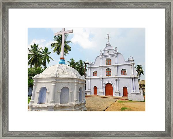 Small Church, Kochi (cochin Framed Print