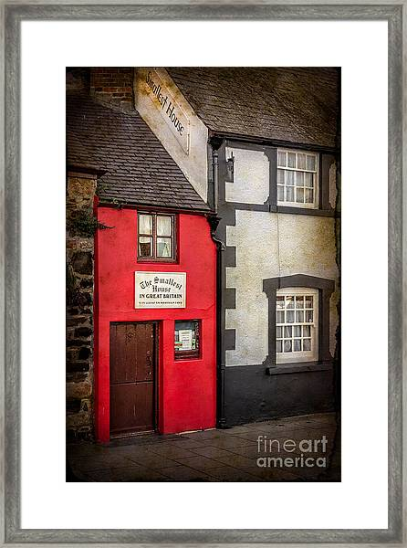 Smallest House Framed Print